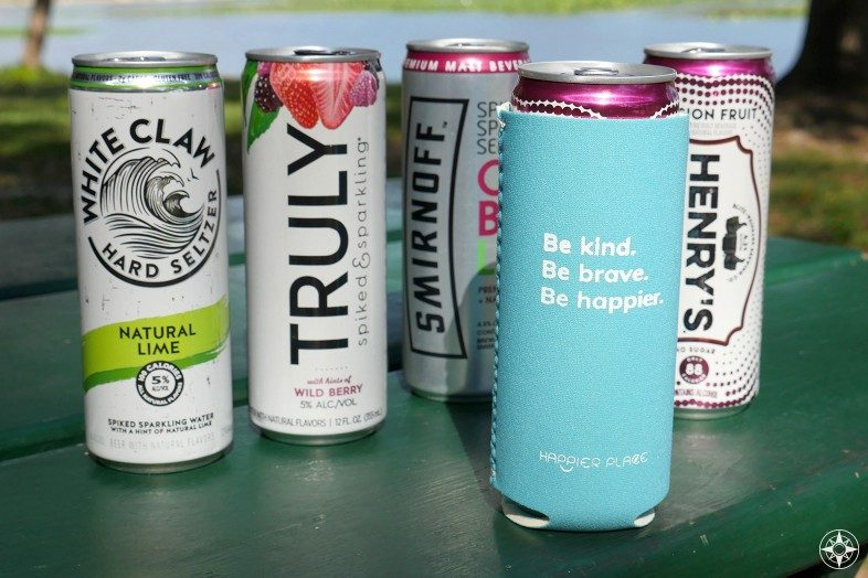 Hard Seltzer, Spiked Seltzer, Hard Sparkling Water... call it whatever you like, just make sure you keep it cool in the Happier Slim Can Cooler.