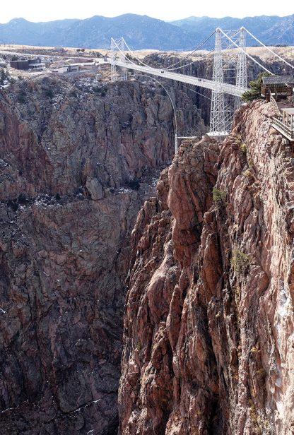 Royal Gorge Bridge, Colorado, postcard