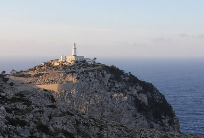 Cap de Fromentor Lighthouse, Mallorca, Spain, postcard