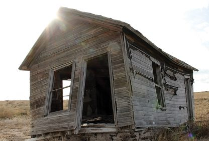 ghost farm in Colorado almost Wyoming, ghost town Carr, spooky rurex