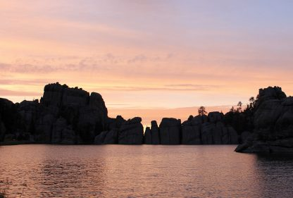 Blue Hour at Sylvan Lake, Custer State Park, South Dakota