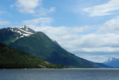 Seen from Highway 1: Turnagain Arm, Alaska