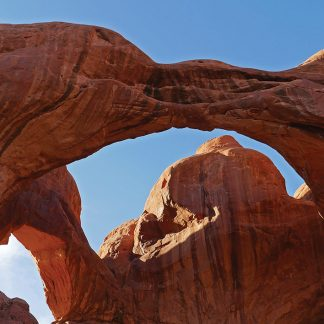 Double Arch, Arches National Park, Utah, postcard