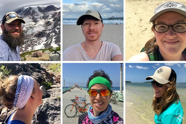 Happier Ambassadors, Happier Place Brand Ambassadors, Jake, Adam, Kate, Danielle, Lisa, Judith