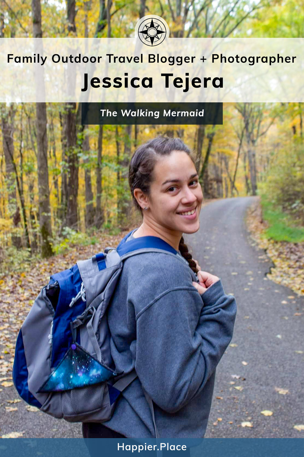 Jessica Tejera, The Walking Mermaid, Family Outdoor Travel Blogger and Photographer