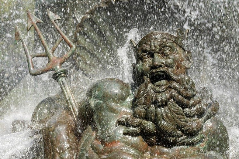 Neptune aka Poseidon Bailey Fountain, Grand Army Plaza, Brooklyn