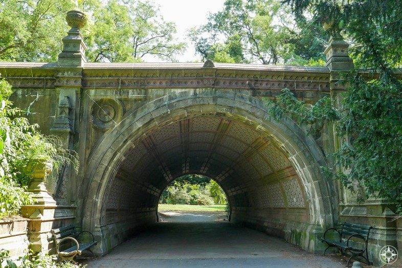The Cleft Ridge Span under Well House Drive, Prospect Park