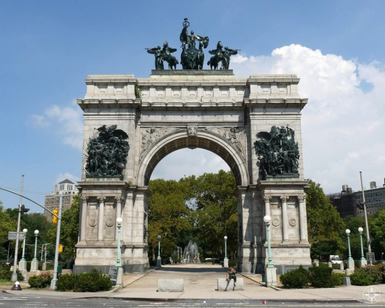 Sailors and Soldiers Arch, Grand Army Plaza, Park Slope, Prospect Heights, Brooklyn, NY