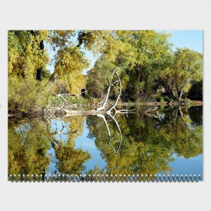Colorado lake reflection, Happier Place 2020 Nature Photography Calendar, monthly wall calendar