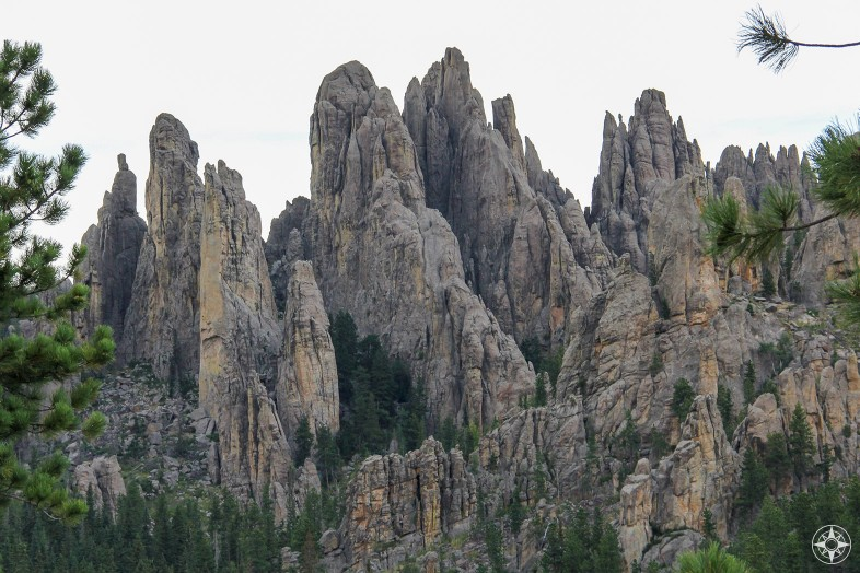 Cathedral Spires, part of the Needles along Needles Highway, Custer State Park, South Dakota