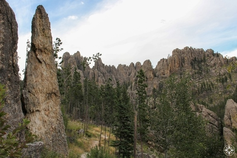 Trail to Cathedral Spires, Custer State Park