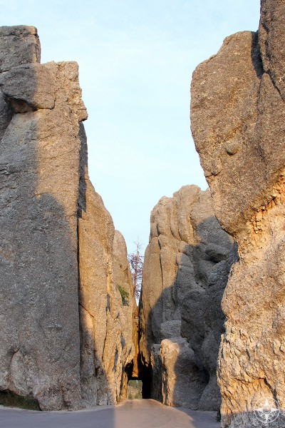 Needles Eye Tunnel, Needles Highway, Custer State Park, South Dakota, Golden Hour, Happier Place