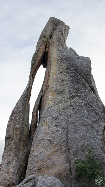 Needles Eye rock formation, Needles Highway, Custer State Park, South Dakota, Black Hills