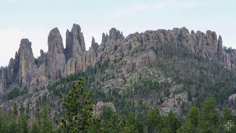 granite pillars, towers, spires, The Needles, South Dakota, Black Hills