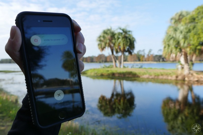 turn off iphone in nature, disconnect to connect more, deeper, happier