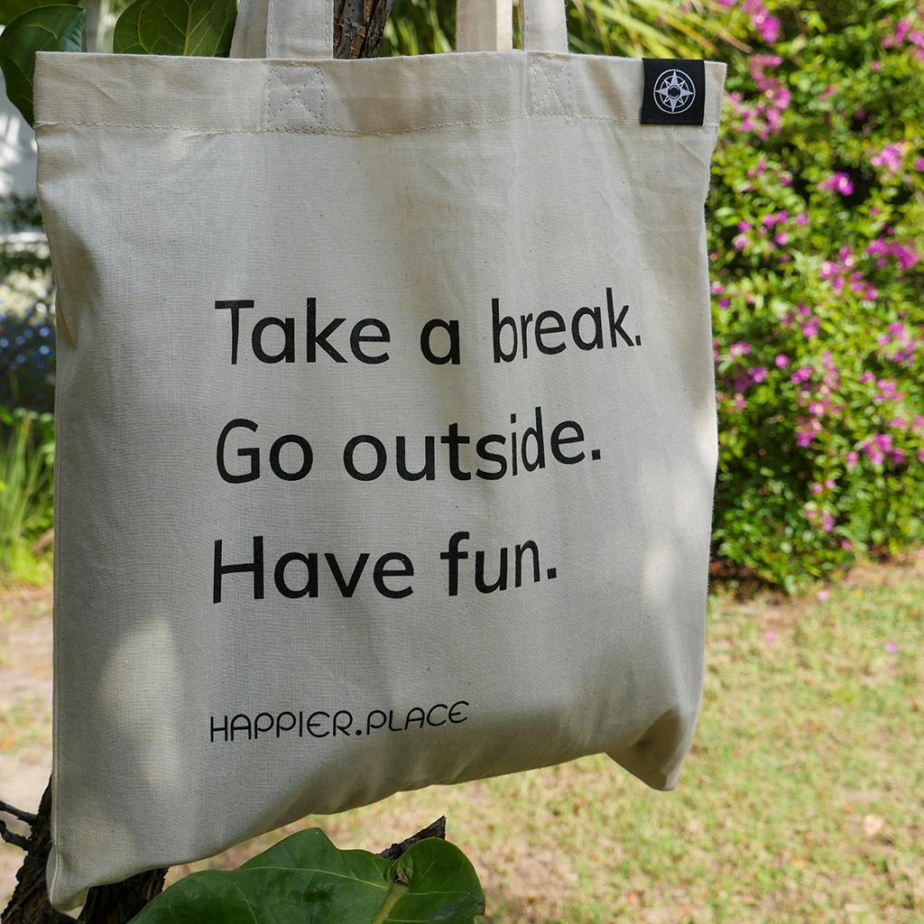 """""""Take a break"""" Shoulder Bag"""