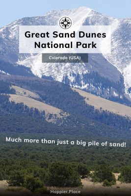 Great Sand Dunes National Park, Colorado, USA, more than just a pile of sand, mountains, forest, Happier Place