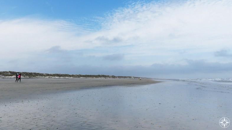 Vast Atlantic Ocean beach on Anastasia Island.