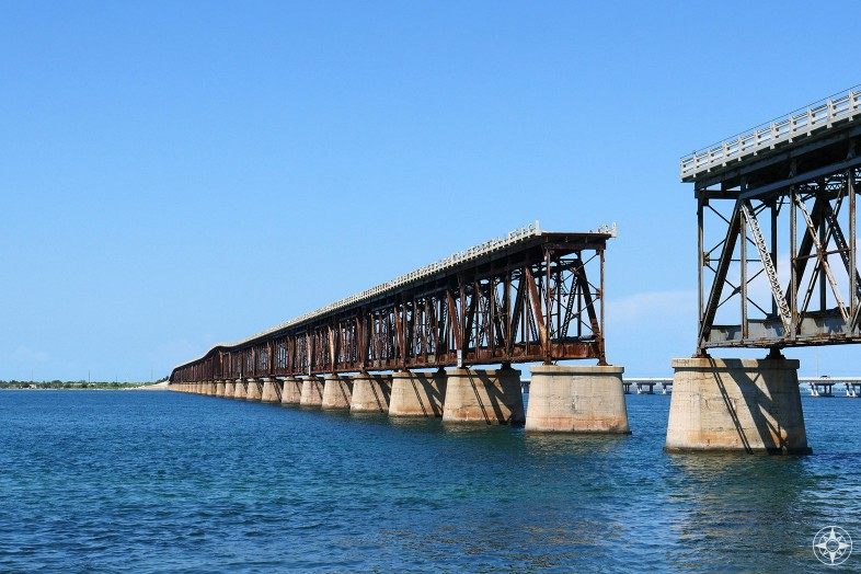 The 100-year old abandoned Bahia Honda Railway and Car Bridge for trains below and cars above, Florida Keys, Happier Place, urbex, rurex
