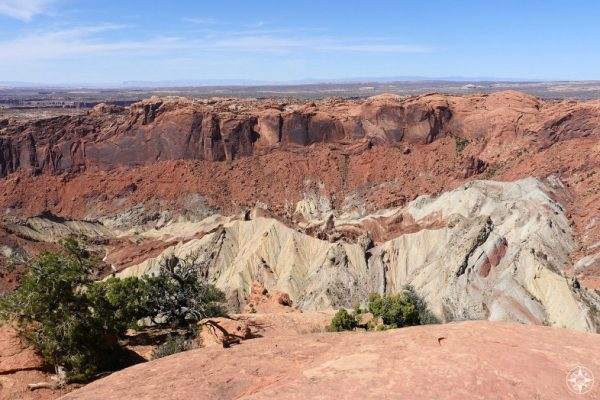 The unusual sight of Upheaval Dome - most likely an impact crater!
