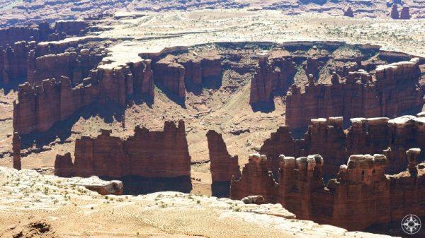 Cedar Mesa Sandstone in Canyonlands National Park.