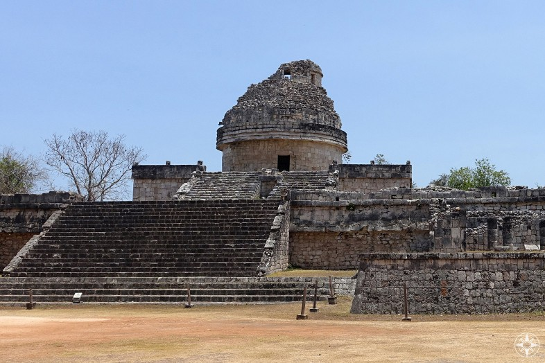 El Caracol, The Snail or The Observatory, Chichen Itza, Mexico