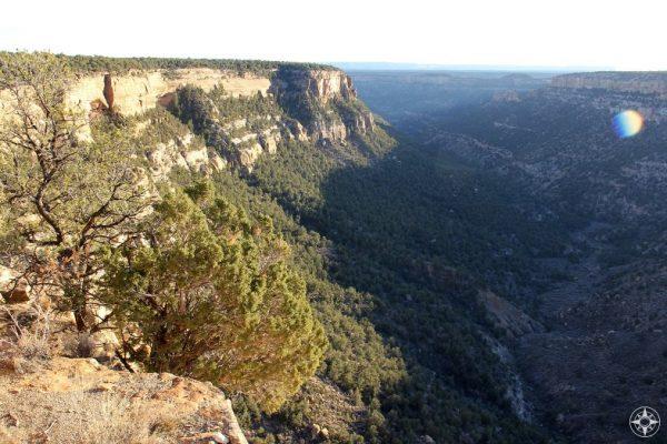 Navajo Canyon in Mesa Verde National Park, Colorado.