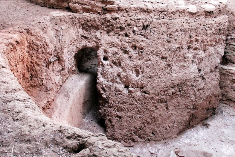 Opening of another ancient Kiva in Mesa Verde National Park.