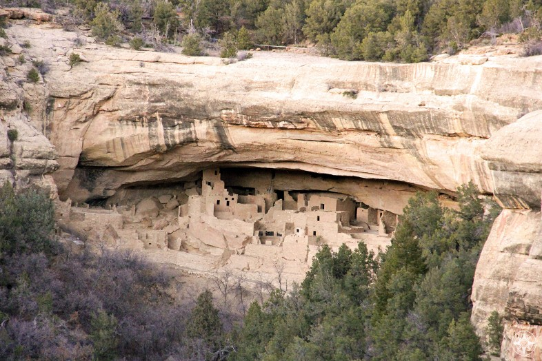 Mesa Verde National Park - Cliff Palace - Cliff Dwelling - Happier Place