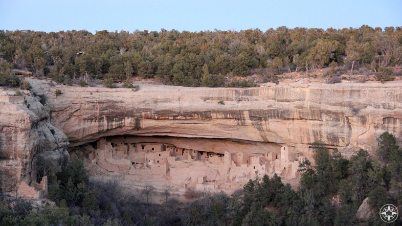 Cliff Palace, the largest cliff dwelling in North America, Mesa Verde National Park, Colorado.
