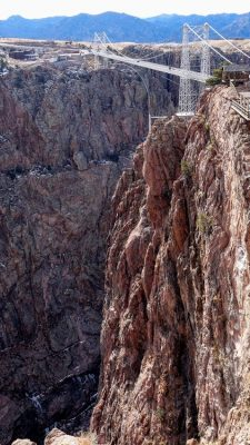 Royal Gorge Bridge, highest suspension bridge, Colorado, USA