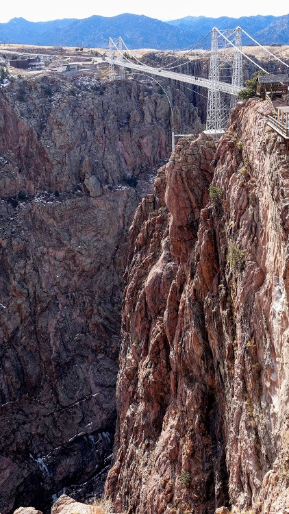 Royal Gorge Bridge, highest suspension bridge, Colorado, USA