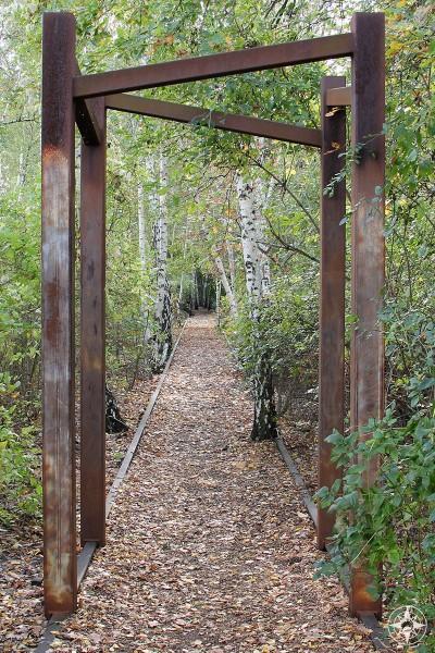 Metal gates in Natur-Park Südgelände Berlin - Happier Place