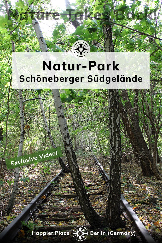 Natur-Park Schoeneberger Suedgelaende, Berlin, Germany, Happier Place, nature takes back, video