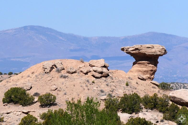 Camel Rock Formation near Santa Fe, New Mexico