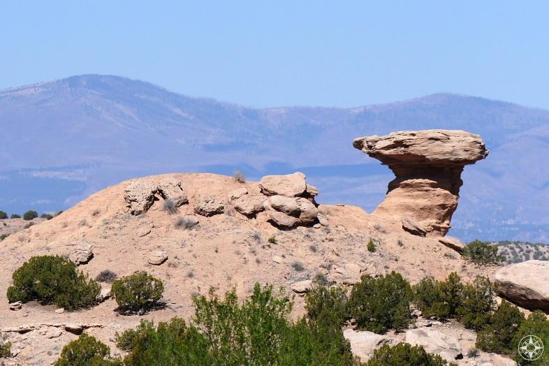 Camel Rock Formation near Santa Fe, New Mexico