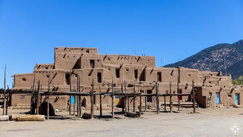 Taos Pueblo Classic Georgia O'Keeffe view
