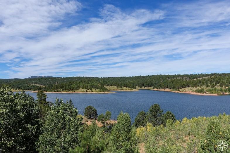 Lake along Pikes Peak Highway