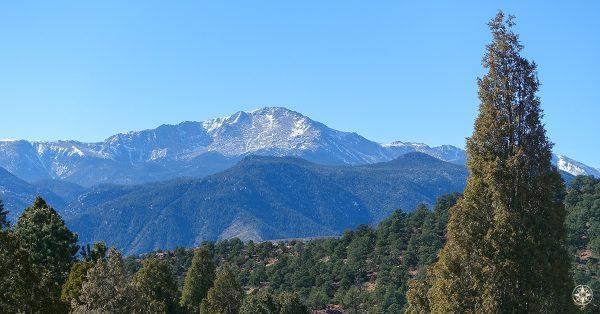 Pikes Peak, Mountain, Colorado, Rocky Mountains