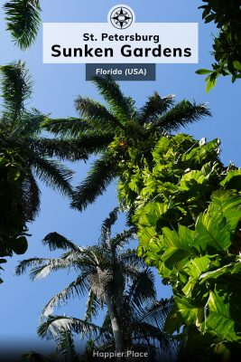 Living Museum: Sunken Gardens in St. Petersburg (Florida) One of the oldest roadside attractions in the US features 50,000 tropical and subtropical plants - some are 100 years old!