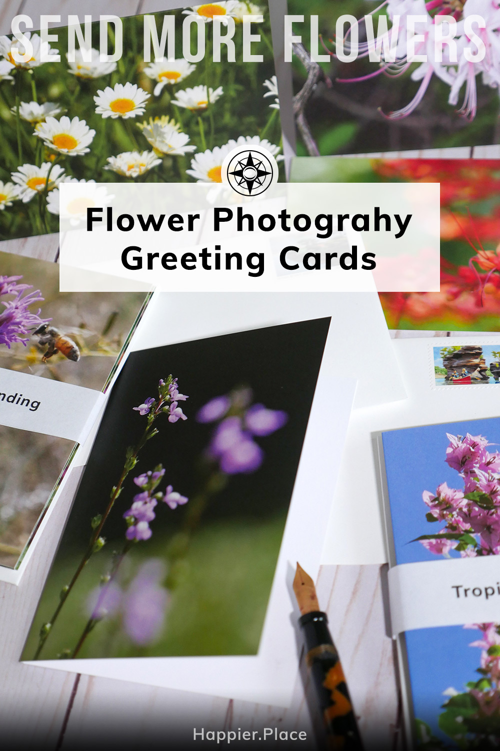 Send More Flowers: 2nd Edition Nature Photography Greeting Cards