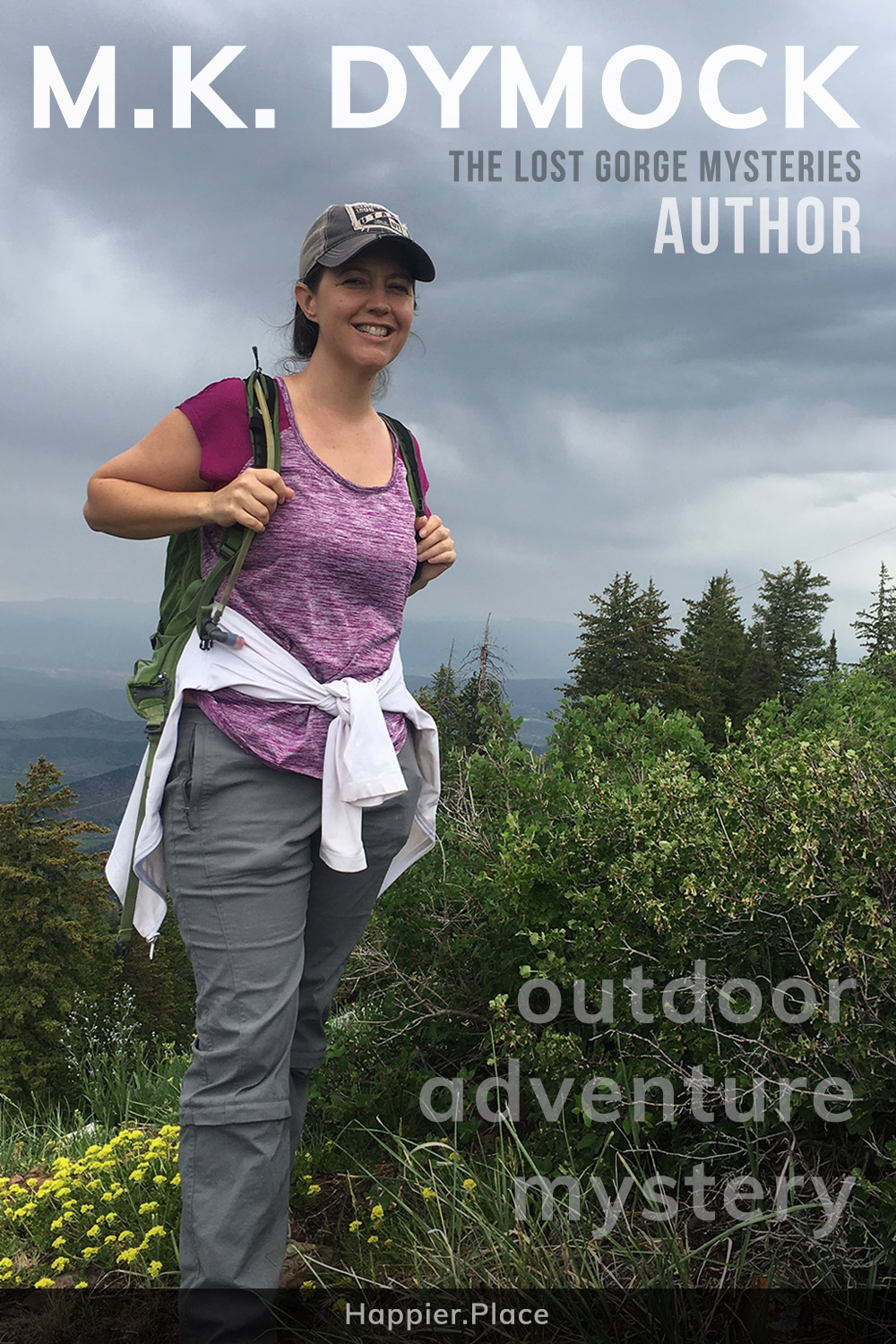 Interview with outdoor adventure mystery author M.K. Dymock, creator of the Lost Gorge Mysteries.