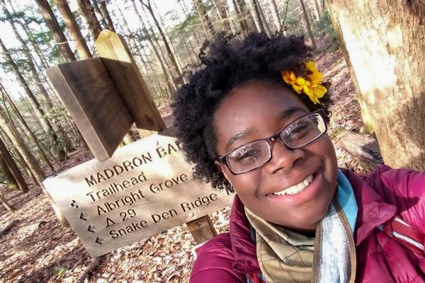 Nicole Jackson, Black in National Parks Week founder, environmental educator, Maddron Bald, Great Smoky Mountains National Park