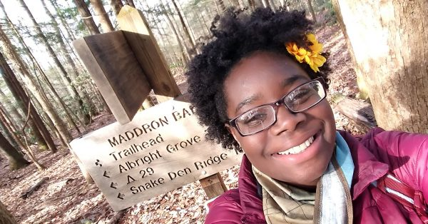 Educator, advocate, organizer, Black in National Parks Week founder, National Parks Conservation Association council member Nicole Jackson in Great Smoky Mountains National Park.