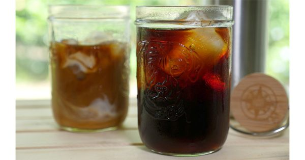 cold brew coffee concentrate recipe Happier Place
