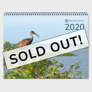 2020 Happier Place Nature calendar is sold out