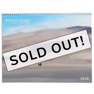 2019 Happier Place Nature Calendar - sold out