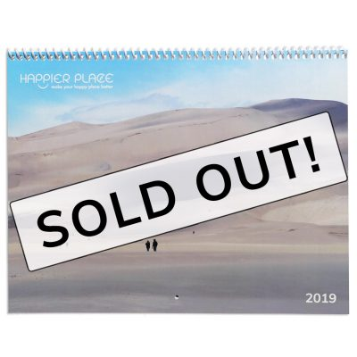 2019 Happier Place Nature Calendar - sold out