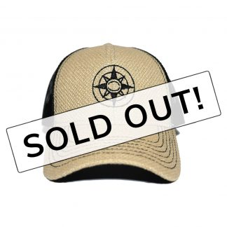 Sold Out Happier Place Burlap Trucker Hat - H008-HAT-LG-BUR