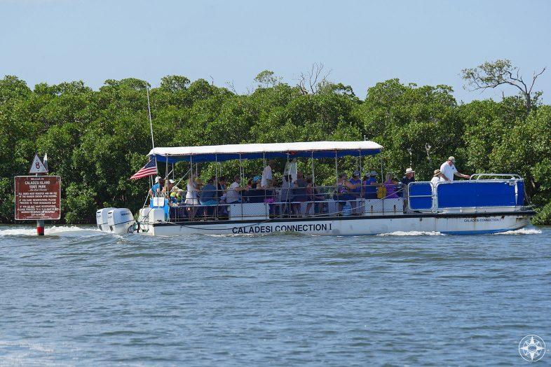 Caladesi Island Ferry Boat from Honeymoon Island
